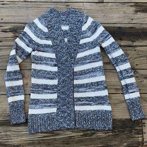 Eddie Bauer Heavy Cozy Knit Striped Sweater Size M